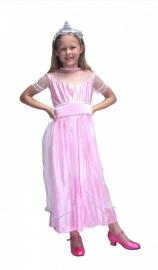 Prinsessenjurk  roze prinses