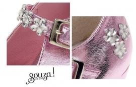 Prinsessen Schoenen Pink Luxe + gratis armband