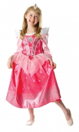 Prinsessenjurk Doornroosje Glitter | Disney