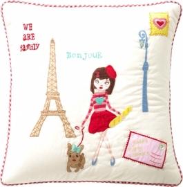 Room Seven Kussenhoes Girls Paris 40 x 40
