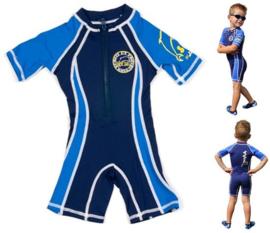 Surfit UV zwempak donkerblauw / lichtblauw
