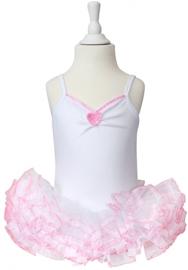 Balletpakje Wit Roze Hart Tutu