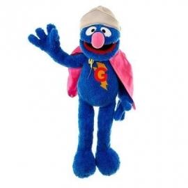 Handpop Super Grover sesamstraat Groot