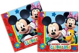 Mickey Mouse Minnie Servetten