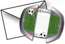 Uitnodigingen Voetbal Feestje