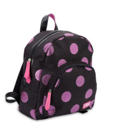 Zebra Rugzak Dots Hot Pink Glitter - sale