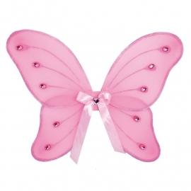 Vlinder Vleugels Roze Glitter