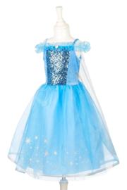 IJskoningin Jurk Frozen II Elsa jurk Luxe