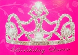Prinsessen Kaart Verjaardagskaart