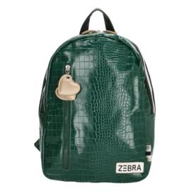 Zebra Rugzak Croco Green (m) - sale