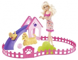 Barbie Puppie Playpark