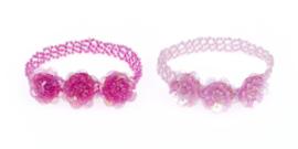 Zebra Rugzak Glitterdots Mint (m) + gratis armbandje