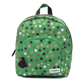 Zebra Rugzak Dots Green - sale