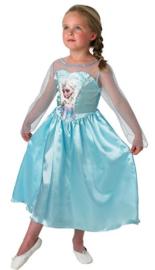 Frozen jurk Elsa + gratis haarband