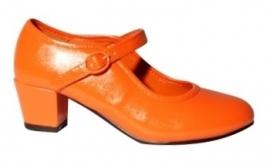 Verkleed Schoenen Oranje Elegance