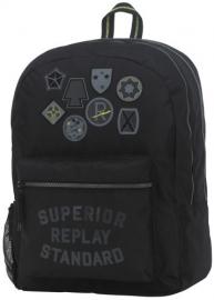 Replay Rugtas Emblem Black II