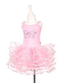 Floraline jurk roze prinsessenjurk