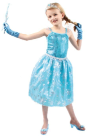 Ijsprinses Jurkje Verkleedjurk Elsa
