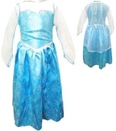 Elsa jurk Frozen - afgeprijsd!