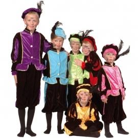 Zwarte Pieten Pak Kind Luxe