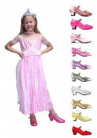 Prinsessenjurk roze prinses PAKKET