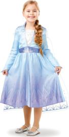 Elsa Frozen II jurk Prinsessenjurk + gratis haarband