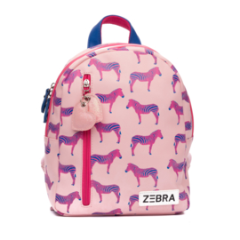 Zebra Rugzak Zebra Pink + gratis kadootje