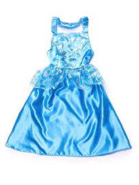 Elsa frozen jurk Ijsprinses verkleedjurk