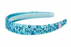 Haarband Tiara Blauw Glitter | Souza