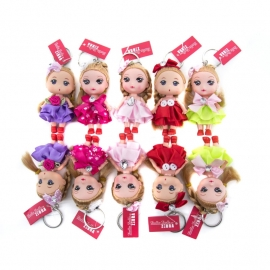 ZEBRA Doll Sleutelhanger Popje