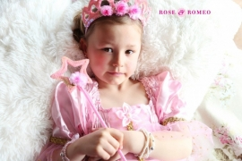 Prinsessenjurk Samara rose and romeo