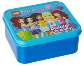 Lego Lunchbox Lego Friends Blauw