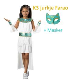 K3 jurkje Farao en masker