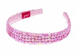 Haarband Tiara Roze Glitter | Souza