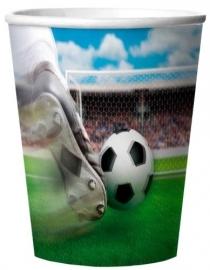 Voetbal Bekertjes 3d Soccer Party