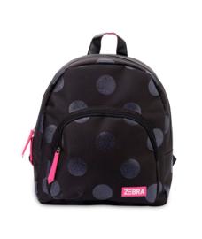 Zebra Rugzak Dots Black Glitter - sale