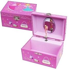 Muziek Doosje Roze Elfje