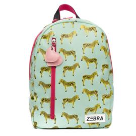 Zebra Rugzak Zebra Green + gratis kadootje