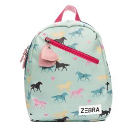 Zebra Rugzak Wild Horses + gratis kadootje