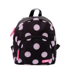 Zebra Rugzak Dots Soft Pink Glitter - sale
