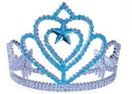 Frozen Elsa Kroontje Blauw Zilver