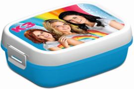 K3 Lunchbox Blauw Wit