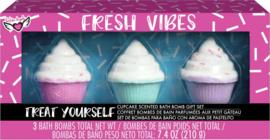 Bruisballen Set Cupcakes - fresh vibes