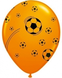 Oranje Ballonnen Voetbal