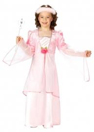 Prinsessenjurk Roze Roosje Luxe