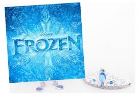 Frozen Kroontje Oorbellen Set
