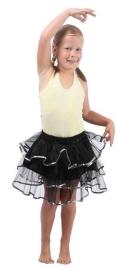 Balletrokje Tutu | zwart zilver PAKKET