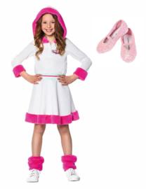 K3 jurk Dromen Verkleedjurk  en schoentjes + gratis Haarband!