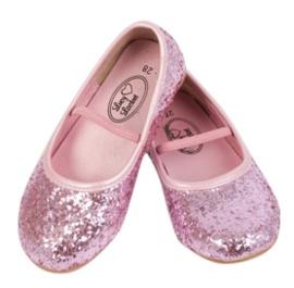 Ballerina Schoentje roze glitter - mt 22 - laatste paar