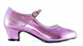 Hakken schoenen Metalic + gratis armband